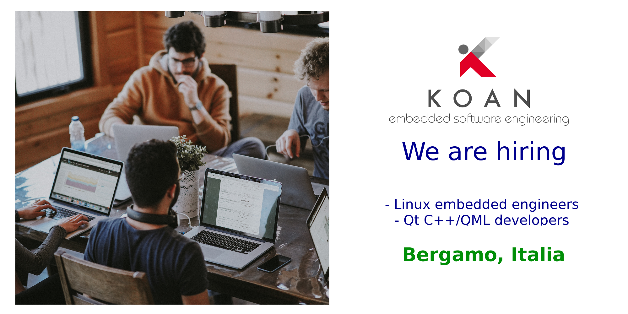 Koan hiring linux developers