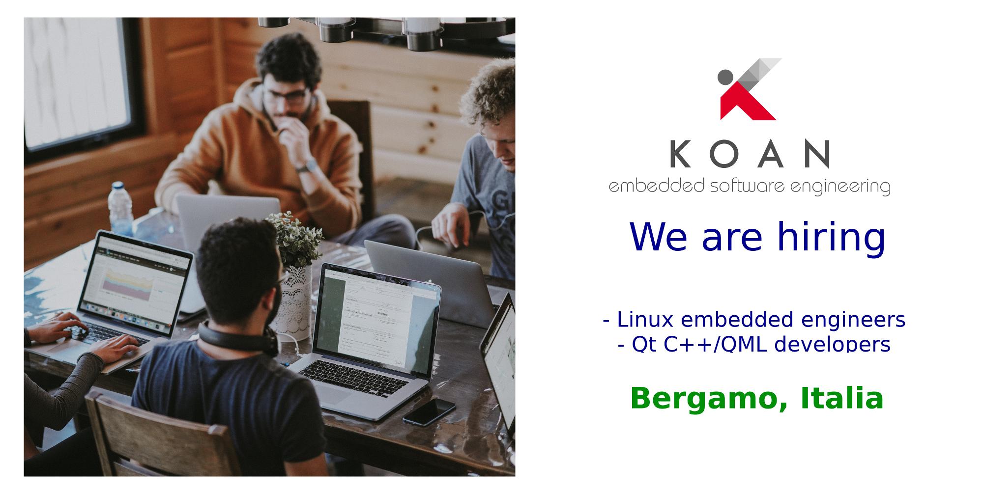 Koan hiring Linux developers