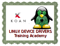 Linux device drivers training academy