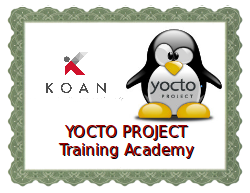 Yocto Project training academy
