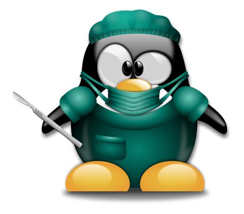 Tux surgeon