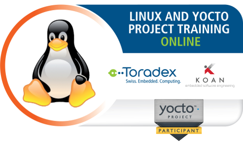 Toradex Koan Training linux embedded and Yocto project